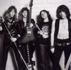 Early Metallica w/ Dave Mustaine