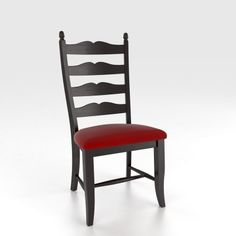 Canadel CHA0764TD Custom Dining Traditional Sidechair available at Hickory Park Furniture Galleries