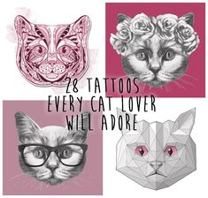 26 Classy Cat Tattoos Every Cat Lover Will Adore