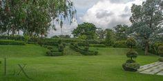 Spectacular landscaped garden in Casa Serena in Monterán - Granadilla - Costa Rica http://lxcostarica.com/property/casa-serena-monteran