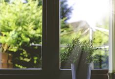 Replacing your old windows or windowed doors with more energy efficient ones? Here's a project to repurpose those old windows. House Smell Good, House Smells, Fibonacci Sequence In Nature, Good Day Sunshine, Diy Porch, Organized Mom, Old Windows, Window Film, Cleaning Solutions