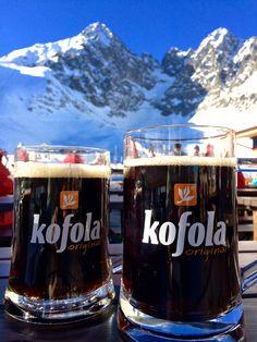 Kofola in High Tatras, Slovakia High Tatras, Prague, Pint Glass, Beer, Branding, Mugs, Country, Life, Food