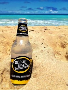 Photo from mike's fan Lindsay J. - mike's hard lemonade on the beach