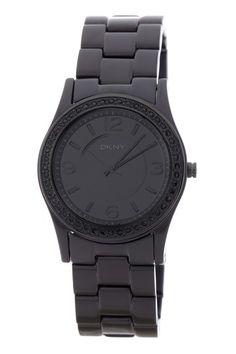 DKNY Black Essential Watch