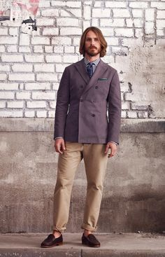 As the fashion obsessive I am, a well-dressed man is an instantaneous head-turner.  Club Monaco via A Continuous Lean: http://www.acontinuouslean.com