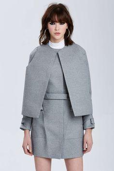 Vintage Balenciaga Logroño Wool Coat | Shop Vintage at Nasty Gal
