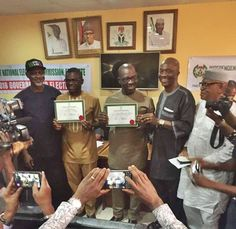 INEC Presents Certificate of Return to Governor-elect Godwin Obaseki (Photos)   At a media event held on today in Benin the Edo state capital Independent National Electoral Commission (INEC) officially presented a Certificate of Return (COR) to Godwin Obaseki the winner of the just concluded Edo state gubernatorial elections and Philip Shuaibu his deputy.  The INEC National Commissioner in-charge of South-South zone Dr Mustafa Muhammed who personally presented the certificates to the…