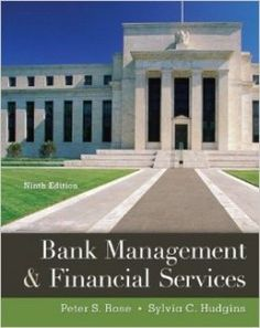 Textbook Solutions Manual for Bank Management & Financial Services 9th Edition Rose Hudgins INSTANT DOWNLOAD