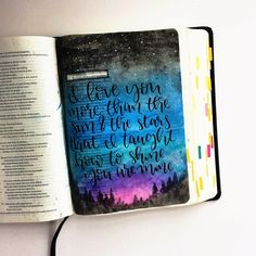 Bible Journaling by @doodlesbyjillian