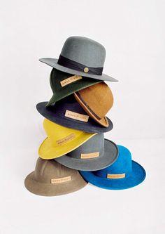 Simon and Mary hats (via miss moss)