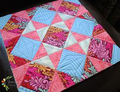quilt as you go tutorial - easy to follow with great photos