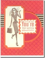 CTMH Fashionista & Thoughtful Tidings (Feb SOTM) stamps with Stella paper http://www.facebook.com/Sheila.Stamping.Stuff