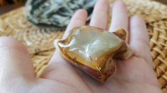Pakistani Onyx Frog ~ One Reiki Infused gemstone frog approx 2 inches long (E11)