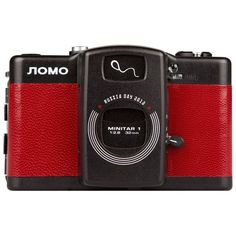 Lomo LC-A Russia Day - Cameras - Lomography Shop ❤ liked on Polyvore featuring fillers, red and electronics
