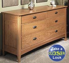 woodworking wood project plan cherry dresser