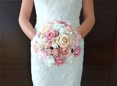 #silk #wedding #flowers #bouquets