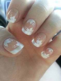 20 Winter Wedding Nails That Are in Trend! - 20 Winter Wedding Nails That Are in Trend! 20 Winter Wedding Nails That Are in Trend Winter Wedding Nails, Winter Nails, Summer Nails, Cute Nails, Pretty Nails, Hair And Nails, My Nails, Kiss Nails, Impress Nails