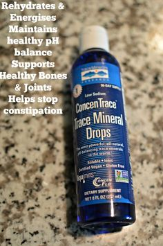 Benefits ConcenTrace reg  Trace Mineral Drops Powerful  pH You will need to introduce the Amazing Benefits ConcenTrace Trace Mineral Drops to your body. They are the most powerful natural health mineral supplements