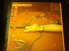 Eric Gale- Ginseng Woman LP was produced by Bob James and cover painting by David Wilcox