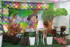 Dora Aventureira - Muita Festa Decorações
