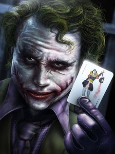 Look what Ive got! ( The Joker ) on Behance