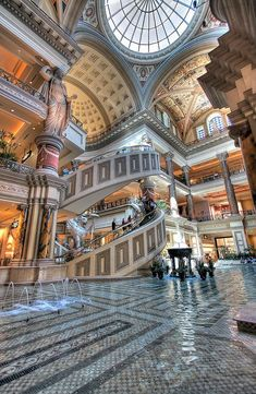 Las Vegas Hotel Tips. Sometimes, it is necessary to stay in a Las Vegas hotel. People often are disappointed with hotel rooms because they leave out the research. Las Vegas Hotels, Las Vegas Vacation, Las Vegas Nevada, Travel Vegas, Vegas Casino, Excalibur Las Vegas, Resorts, Restaurant Hotel, Palace Interior