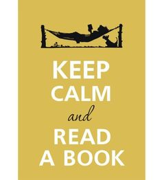 Keep cal and read a book