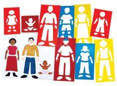 Czy małe dziecko potrzebuje świadomości, kim jest, do kogo przynależy? Na ile sposobów wykorzystać można więc szablony Portrety rodzinne?  Porusz swoją kreatywność z educarium i daj dzieciom pomoc do tworzenia pięknych rysunków nawet jeszcze mało sprawnym manualnie - rozwijają umiejętności grafomotoryczne, pomagają kształtować wytrwałość nawet szybko zniechęcającym się dzieciom. http://www.sklep.educarium.pl/educarium.php?section=1&kategoria=22&subkategoria=7284&produkt=11499