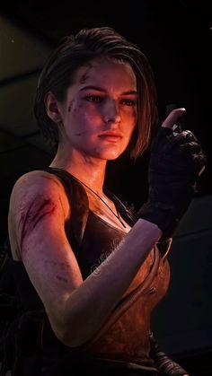 Valentine Resident Evil, Resident Evil Girl, Resident Evil 3 Remake, Spy Girl, Fandom Games, Anime City, Jill Valentine, Digital Art Girl, Badass Women