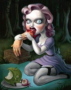 Surrealistic Zombie Art