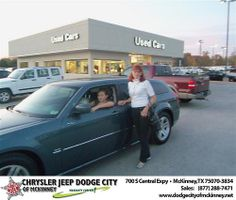 Happy Birthday to Rebecca Bryant from Gary Lubbers  and everyone at Dodge City of McKinney! #BDay
