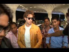 WATCH Hrithik Roshan at Mumbai Airport leaving for IIFA Awards 2015.  See the full video at : https://youtu.be/p-lBx6OuL4g #hrithikroshan #bollywoodnewsvilla #bollywood