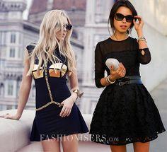 How to Wear a Little Black Dress
