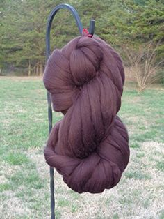 Shep's Dark Chocolate Brown Merino Wool Top Roving Fiber Spinning, Felting Crafts USA (1lb) >>> Find out more about the great product at the image link.