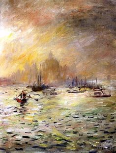 Pierre Auguste Renoir - Venice - Fog