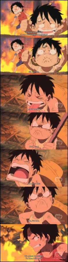 Luffy crying by kmanisr on deviantART