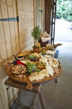 Cheese board for my kitchen. Welcoming snacks for guests. #LGLImitlessDesign & #Contest