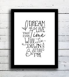 Typography quote print  Practical Magic movie by DomesticNotions, $23.00