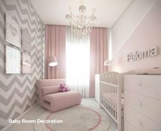 Baby Girl Nursery Design Ideas for Your Cutie Pie. Baby Girl Nursery Design Ideas for Your Cutie Pie - mybabydoo. Are you looking for some nice baby girl nursery ideas for your soon-coming child? If yes, then you're stumbling upon the right page. Baby Bedroom, Baby Room Decor, Nursery Room, Girls Bedroom, Girl Rooms, Bedrooms, Room Baby, Nursery Furniture, Baby Bedding