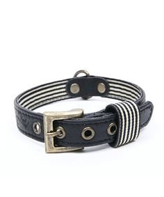 WAGWORLD BLACK LEATHER DOG COLLAR - MEDIUM. Available from Nuzzle.co.za Leather Dog Collars, Your Dog, Black Leather, Belt, Medium, Bracelets, Dogs, Accessories, Jewelry