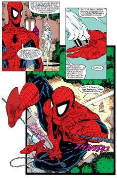 Stan Lee Spiderman, All Spiderman, Batman And Superman, Amazing Spiderman, Marvel Comic Books, Comic Books Art, Comic Art, Marvel Comics, Spider Art