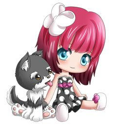 warla woo and Coco chibi by Cupkik on deviantART