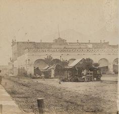 Palacio Municipal, 1868, Monterrey, Nuevo León, México.