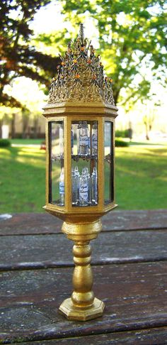 Dollhouse Miniature Harry Potter Dumbledore's Memory Vial Cabinet Layaway Available. $195.00, via Etsy.
