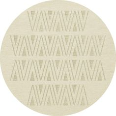 Dalyn Rug Co. Bella White Area Rug Rug Size: Round 4'