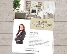 Realtor referral | Etsy Real Estate Templates, Real Estate Flyer Template, Real Estate Buyers, Us Real Estate, Marketing Letters, Realtor Gifts, Etsy Business, Real Estate Marketing, The Neighbourhood