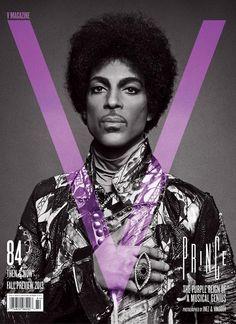 V MAGAZINE - Prince