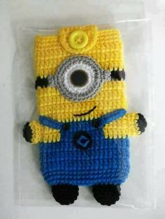 How to Crochet Mobile Cell Phone Pouch for iPhone Samsung - Crochet Ideas