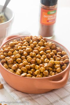 Easy oven roasted chickpeas