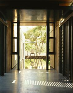 """Olson Kundig Architects have completed the Ocean House project on the Big Island in Hawaii and were kind enough to send us some high quality photos of this dream home. Ocean House in Hawaii by Olson Kundig Architects: """"Inspired by traditional Balinese palaces and temples, this house sits on a beautiful promontory of exposed lava. Tropical design concepts and time-honored building practices were used to fit the house naturally into.."""
